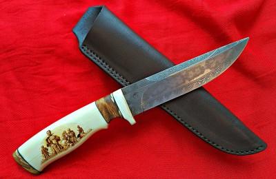 """Medžioklinis peilis No 150 """"7 Samurai"""" SOLD"""