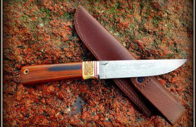 """Medžioklinis peilis No 357 """"Kelt-3"""" 800 €"""