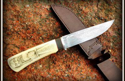 """Medžioklinis peilis No 355 """"Viking"""" 800 €"""