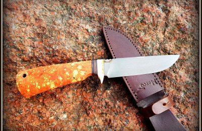 """Medžioklinis peilis Nr 389 """"Moose hunting-7""""  200 €"""