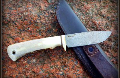 """Medžioklinis peilis Nr 397 """"Moose hunting"""" 250 €"""