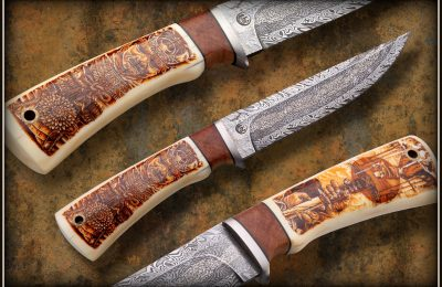 """Kolekcinis peilis No 333 """"Samurai""""  PARDUOTAS"""