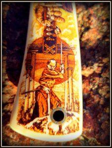 prabangus peilis 333 (2) Hunting knife, Medžiokliniai peiliai, peiliai medžioklei, rankų darbo peiliai, peilis medžiotojui, peilių gamyba, išskirtiniai peiliai, dovana vyrui, verslo dovanos, kokybiški peiliai