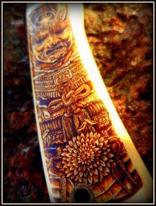 prabangus peilis 333 (3) Hunting knife, Medžiokliniai peiliai, peiliai medžioklei, rankų darbo peiliai, peilis medžiotojui, peilių gamyba, išskirtiniai peiliai, dovana vyrui, verslo dovanos, kokybiški peiliai