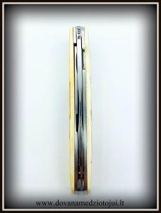 lenktinis peilis nr 416 (3) Medžiokliniai peiliai, peiliai medžioklei, rankų darbo peiliai, peilis medžiotojui, peilių gamyba, išskirtiniai peiliai, dovana vyrui, verslo dovanos, kokybiški peiliai