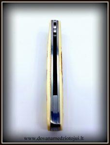 lenktinis peilis nr 416 (4) Medžiokliniai peiliai, peiliai medžioklei, rankų darbo peiliai, peilis medžiotojui, peilių gamyba, išskirtiniai peiliai, dovana vyrui, verslo dovanos, kokybiški peiliai