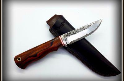 """Medžioklinis peilis Nr 460 """"Iltis""""  PARDUOTAS"""