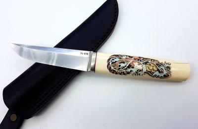 """Medžioklinis peilis Nr 459 """"Rytai""""  400 €"""