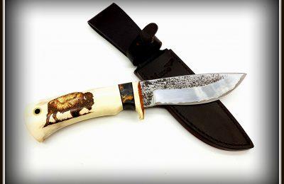 """Medžioklinis peilis Nr 458 """"Stumbras""""  PARDUOTAS"""