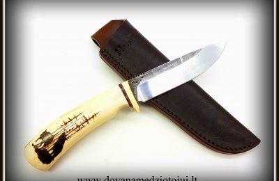 """Medžioklinis peilis Nr 478 """"Vilkas-2""""  200 €"""