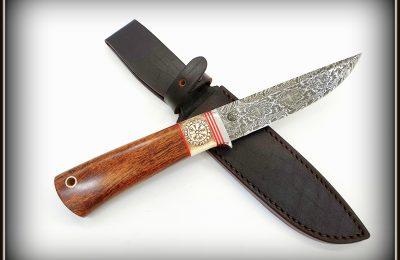 """Medžioklinis peilis Nr 525 """"Vikingo kelias""""  600 €"""