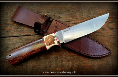 """Medžioklinis peilis Nr 540 """"Vilkas-4""""  450 €"""