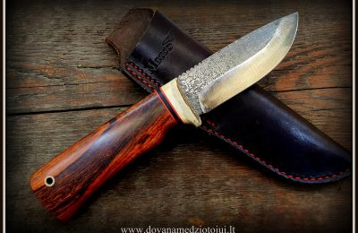 """Medžioklinis peilis """"Lapė-46""""  150 €"""