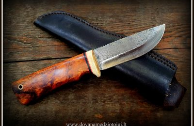 """Medžioklinis peilis """"Lapė-47""""  150 €"""