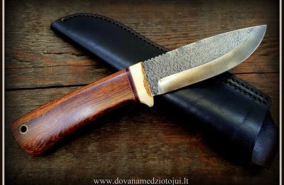 """Medžioklinis peilis """"Lapė-49""""  150 €"""