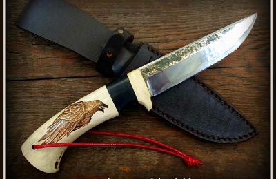 """Medžioklinis peilis Nr 541 """"Varnas""""  450 €"""