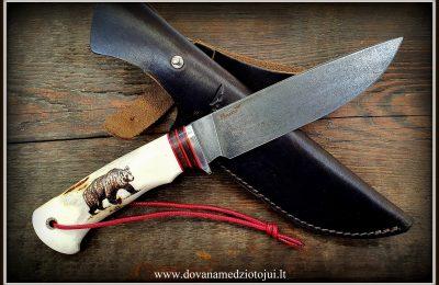 """Medžioklinis peilis Nr 533 """"Deimantas"""" 300 €"""