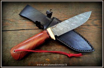 """Medžioklinis peilis Nr 556 """"Sakalas-17""""  250 €"""