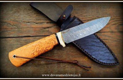 """Medžioklinis peilis Nr 569""""Rock-11""""  250 €"""