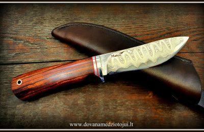 """Medžioklinis peilis Nr 570""""Loki""""  500 €"""