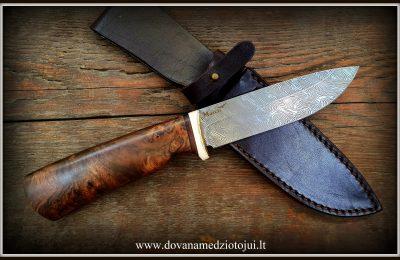 """Medžioklinis peilis Nr 571""""Rock-12"""" 250 €"""