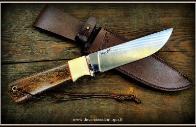 """Medžioklinis peilis Nr 540 """"Vilkas-4""""  400 €"""