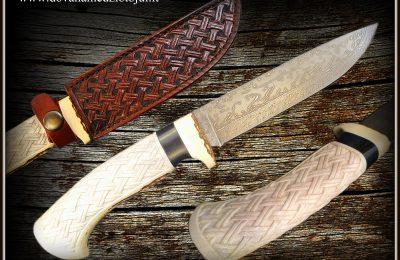 """Medžioklinis peilis Nr 580 """"King""""  350 €"""