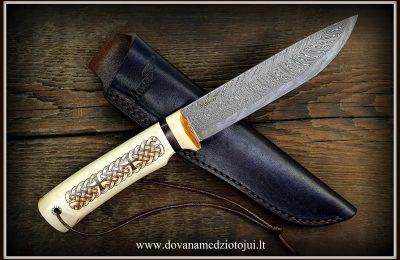 """Medžioklinis peilis Nr 601 """"Kelt""""  280 €"""