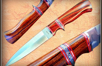"Kovinis peilis Nr 588 ""Subhilt fighter-2""  550 €"