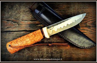 """Medžioklinis peilis Nr 607 """"Loki-7""""  350 €"""