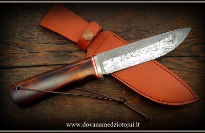 """Medžioklinis peilis Nr 609 """"Rock-18""""  400 €"""