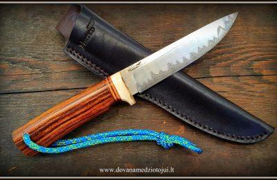 """Medžioklnis peilis Nr 636 """"Stumbras-2""""  280 €"""