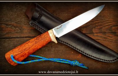"""Medžioklinis peilis Nr 637 """"Stone-4""""  200 €"""