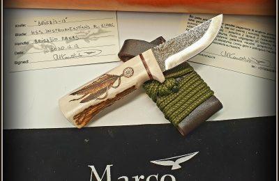 """Medžioklinis peilis """"Briedis-13""""  130 €"""
