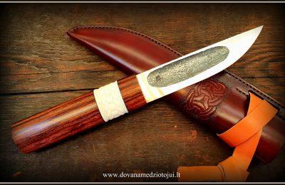 """Medžioklinis peilis Nr 691 """"Jakut-4""""  400 €"""