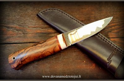 """Medžioklinis peilis Nr 694 """"Scandi""""  250 €"""