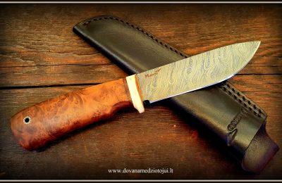 """Medžioklinis peilis Nr 710 """"Vanagas-10""""  280 €"""