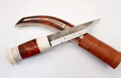 Antikvarinis medžioklinis Saamų peilis  250 €