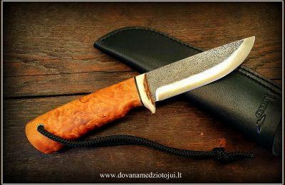 """Medžioklinis peilis """"Ernis-4""""  120 €"""