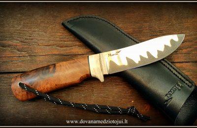 """Medžioklinis peilis Nr 714 """"Šernas-8""""  280 €"""