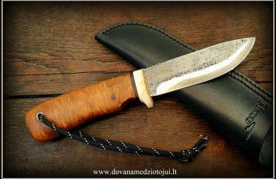 """Medžioklinis peilis """"Ernis-10""""  120 €"""