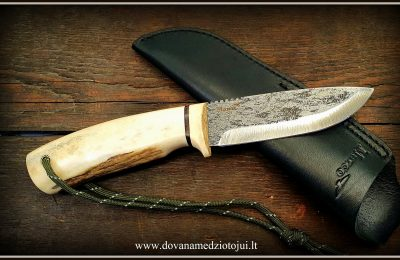 """Medžioklinis peilis """"Ernis-11""""  140 €"""