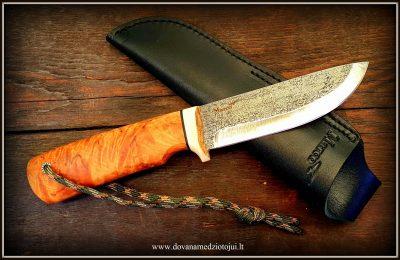 """Medžioklinis peilis """"Ernis-2""""  120 €"""