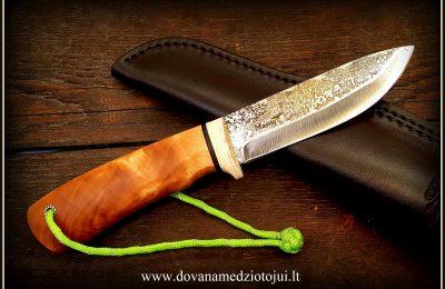 """Medžioklinis peilis """"Ernis-8""""  120 €"""