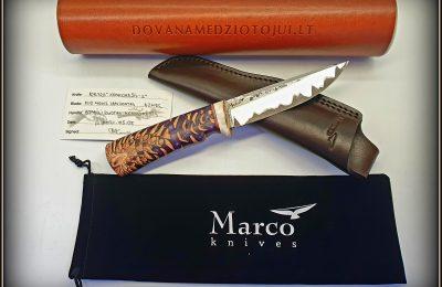 """Medžioklinis peilis Nr 726 """"Konkorėžis-2""""  350 €"""