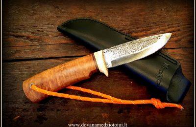 """Medžioklinis peilis """"Ernis-16"""" 130 €"""