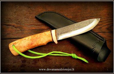 """Medžioklinis peilis """"Ernis-20""""  130 €"""