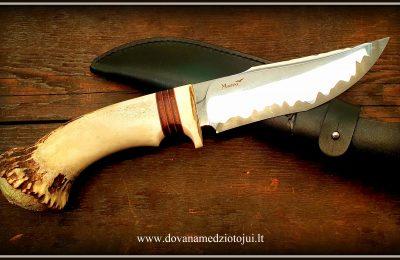 """Medžioklinis peilis Nr 748 """"Alfawolf""""  GAMINAMAS"""