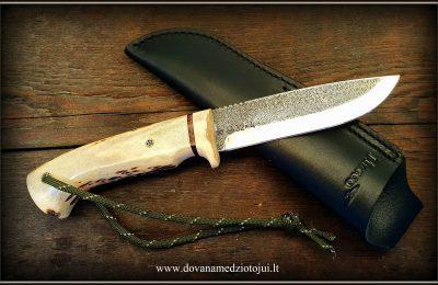 """Medžioklinis peilis """"Ernis-27""""  180 €"""