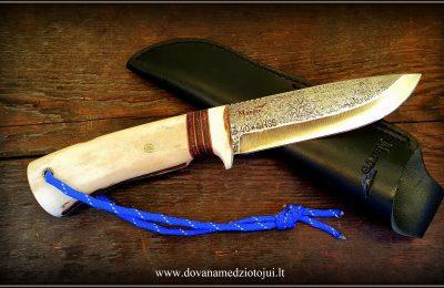 """Medžioklinis peilis """"Ernis-41""""  180 €"""